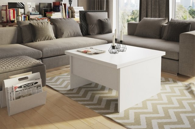 Space 1 Table white