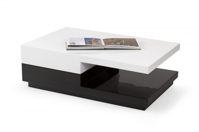 Transformer Coffee Table.Montana Black White Coffee Table Transformer 24a Lv