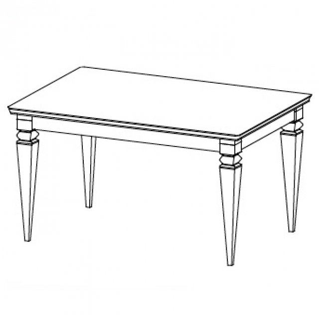 Torino TO S2 Coffee Table White Gloss/oak Mocca