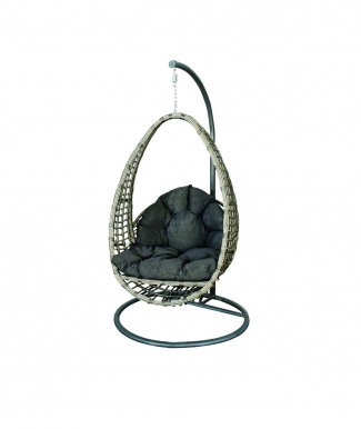ARIA- Hanging chair with cushions