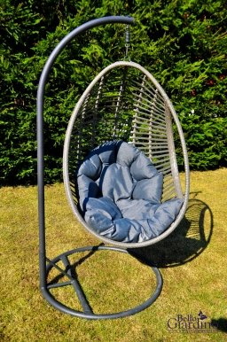 BELLISSIMO Hanging chair with cushions