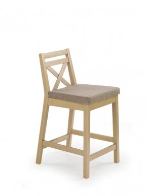 BORYS LOW Bar stool Oak sonoma Inari 23