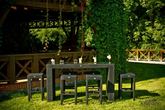 Garden furniture set GENIALE Table + 6 chairs