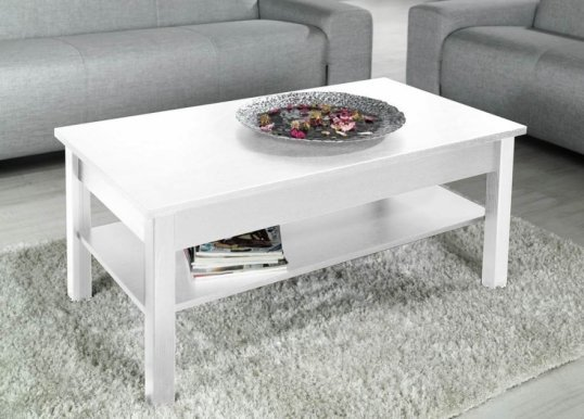 LOGO Coffee table white