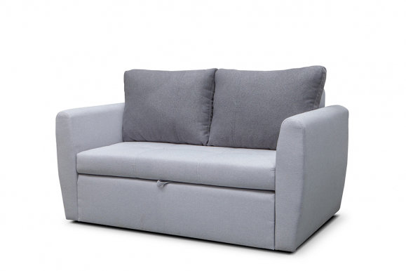 Bela 2 Sofa-bed (Light grey fabric Metro 84+90)