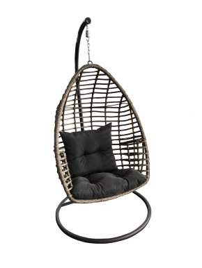 PIATTO Hanging chair with cushions