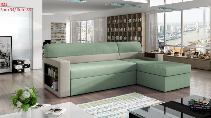 Rico- Corner sofa right