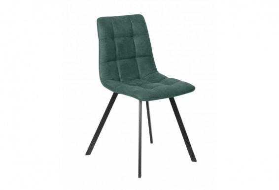 ROMY Chair anthracite/malachite