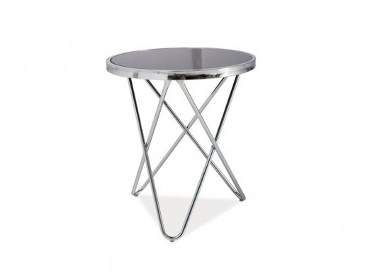 Fabia C Coffee table Black/chrome