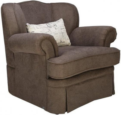 SACRAMENTO Armchair (brown)