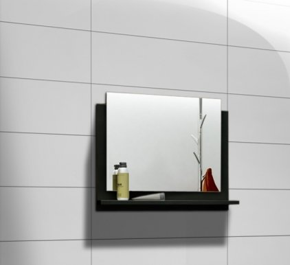 DR/LU Mirror for bathroom black