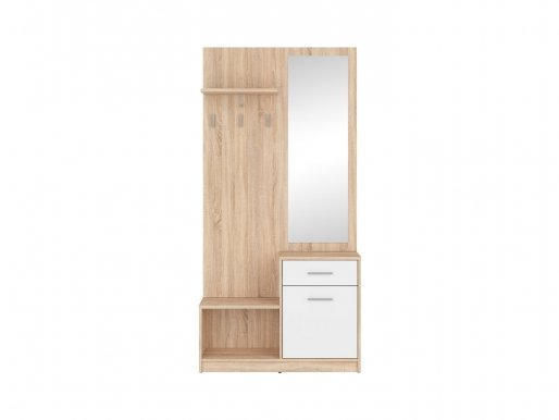 Nepo Plus Hall oak sonoma/white