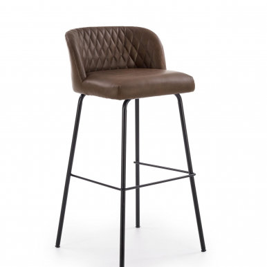 V-CH-H/92-C.B Bar stool (Dark brown)