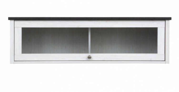 Porto SFW1W Wall glass-fronted cabinet