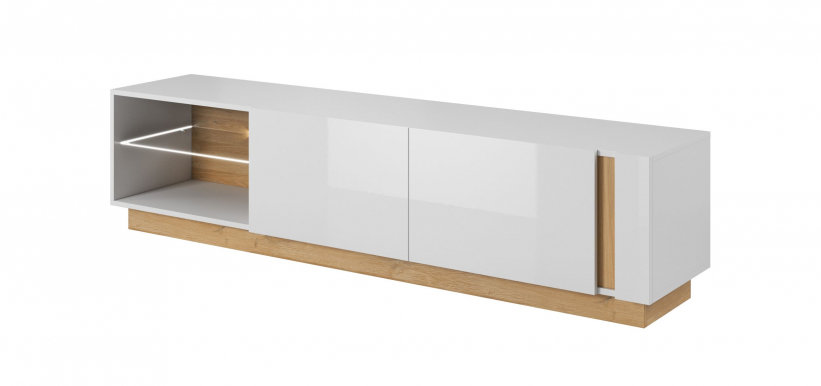 Arco White H TV cabinet