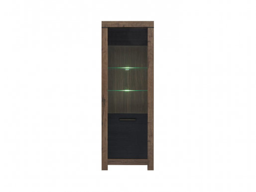 Balin REG1W Glass-fronted cabinet