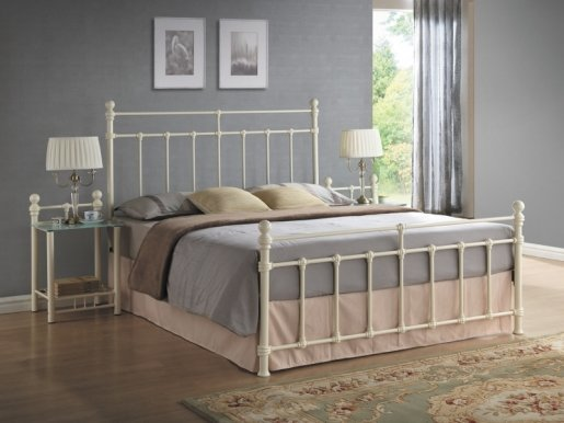 Bristol 90 Cream Bed with frame