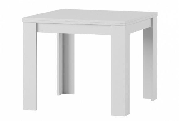 Saturn 40 Extendable dining table white
