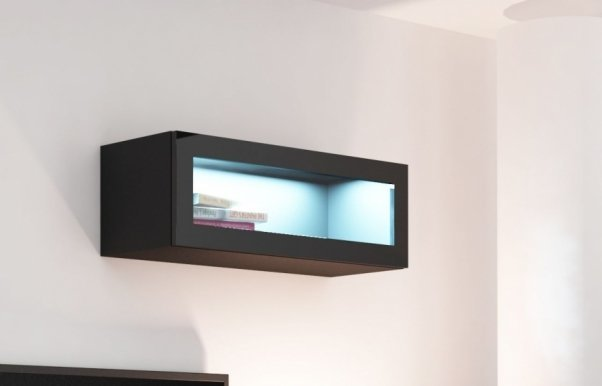 Vigo WIT 90 szklo Glass-fronted cabinet