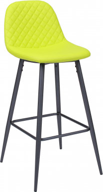 BCR- 500 Bar stool Anthracite/lime
