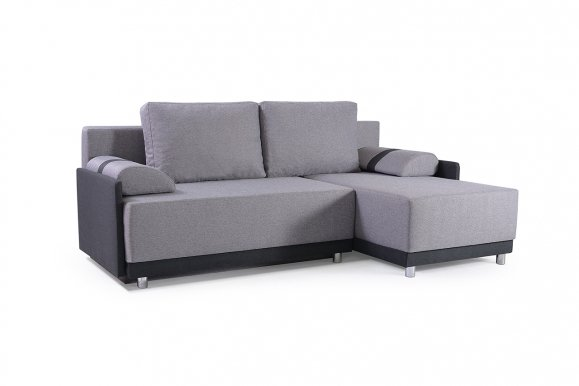 Koniglich Universal L/P Сorner sofa (Dark grey fabric Malmo 90+Dark fabric Malmo 96)