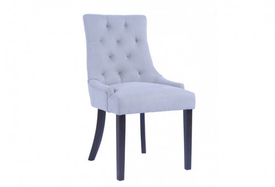 CORAL Chair dark walnut/light grey