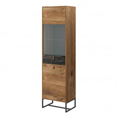 Dark-Collection DWT53 Glass-fronted cabinet