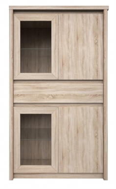Narton WIT2D2W1S Glass-fronted cabinet