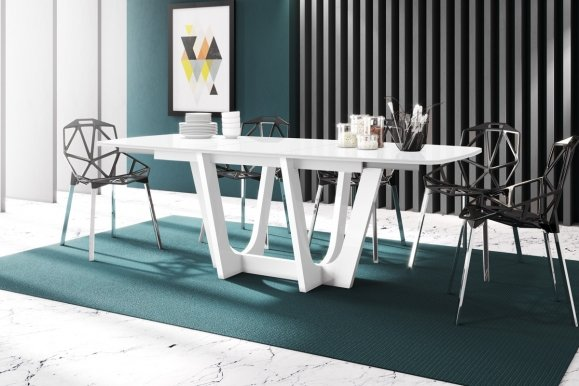 URBINO 160 Extendable dining table