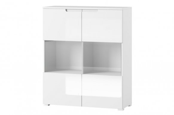 Selene 27 Glass-fronted cabinet