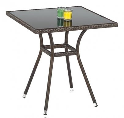 MOBIL Table Dark brown