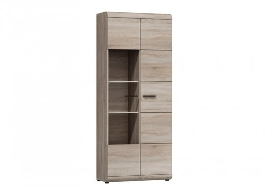 Laslink WIT W 80 Glass-fronted cabinet