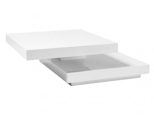 Falon white Coffee table transformer
