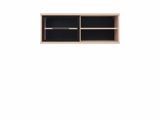Fever SFW1W/4/10 Wall glass-fronted cabinet oak sonoma