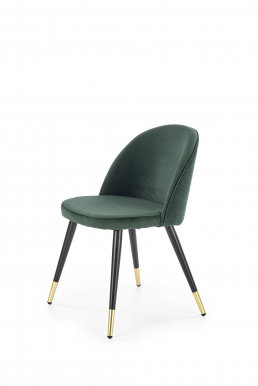 V-CH-K/315-KR- C.Z Chair (green/black/gold)