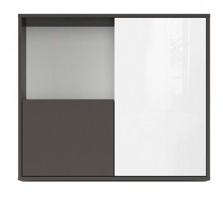 Graphic SFW2D/86/75/C-SZW/BLP Wall cabinet