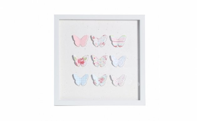 Picture with frame 3D-129 Butterfly