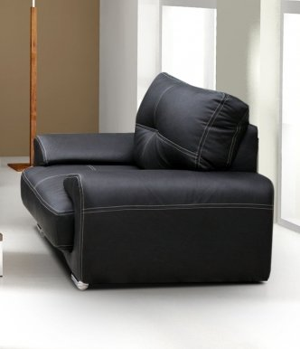 OM-GA I Armchair (black eco leather D8)