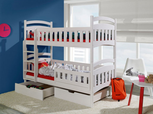 DOMINIK II Bunk bed with mattress