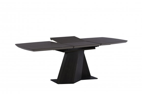 SCALA (1600-2100x900x760) Extendable dining table Brown