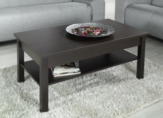 LOGO Coffee table wenge