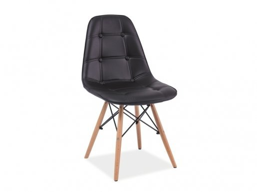 Axel- BUC Chair black/beech wood