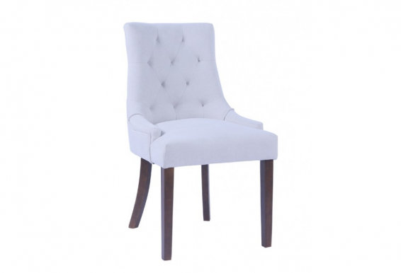 CORAL Chair dark walnut/beige