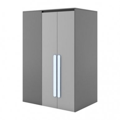 PLAY PL-00L Wardrobe with lighting+Handles to PL-00