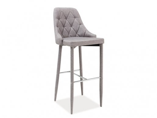 Trix- H-1 SZ Bar stool Grey TAP.06