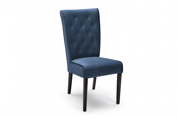 YORK Chair (Blue fabric Bluvel 85)