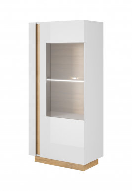 Arco White C Glass-fronted cabinet