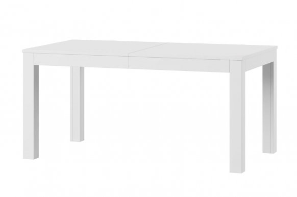 Wenus 160-207-254-300 Extendable dining table white mat