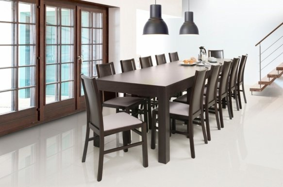 Wenus 160-207-254-300 Extendable dining table wenge
