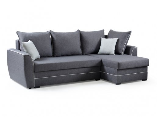 SYOMI Universal L/P Сorner sofa (Dark grey fabric Malmo 95+90)
